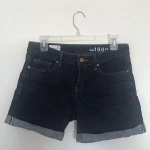 GAP 1969 Real Straight denim shorts size 27